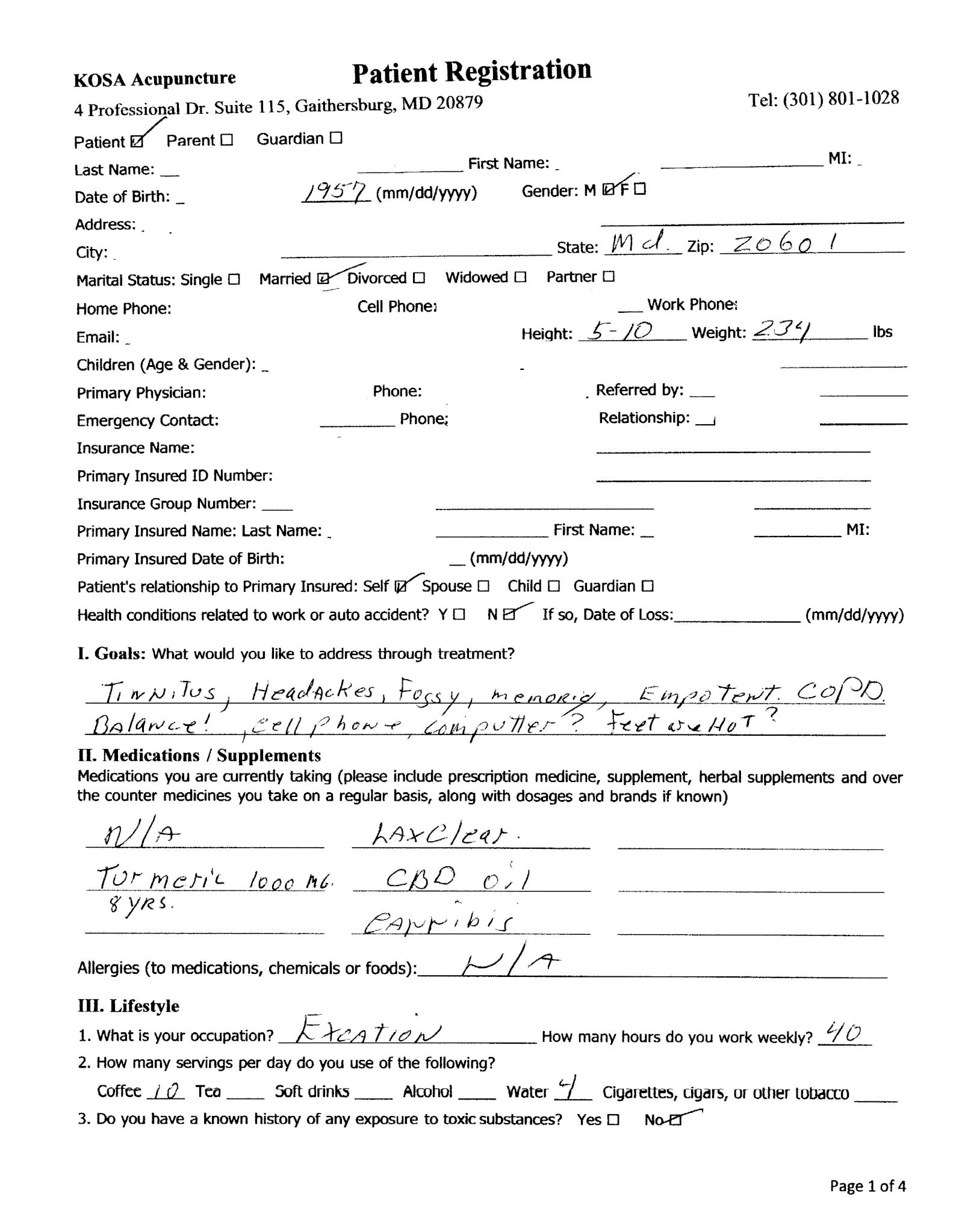kosa182 Page 1 - Tinnitus Testimonial, LV - KOSA Acupuncture